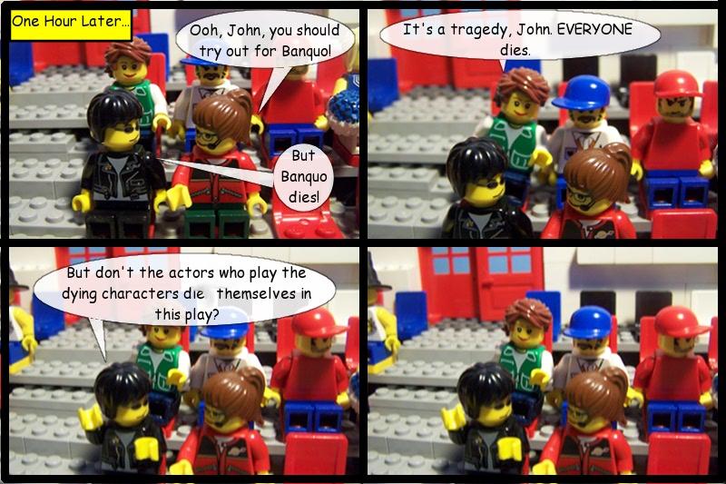 No go for Banquo